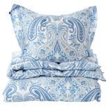 Gant Key West Paisley Single Duvet - Capri Blue